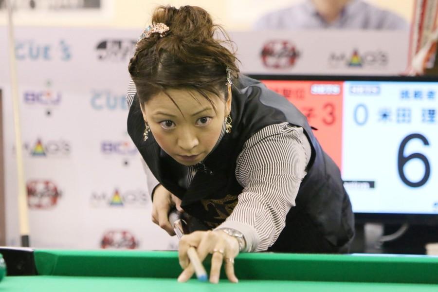第7期 女流球聖位 佐原 弘子